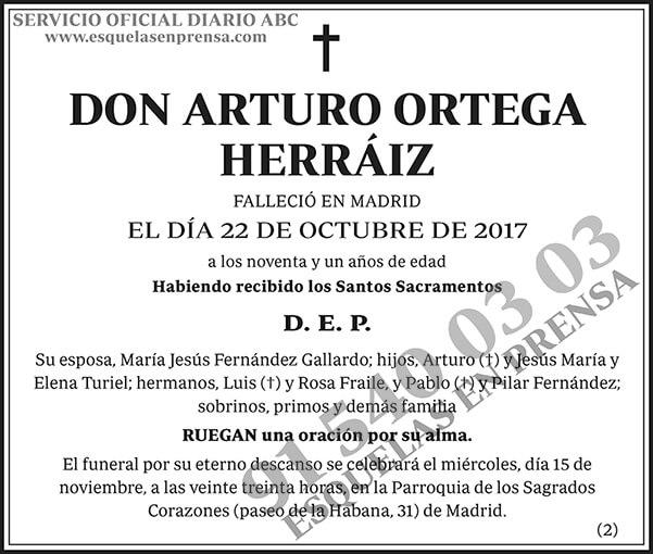 Arturo Ortega Herráiz